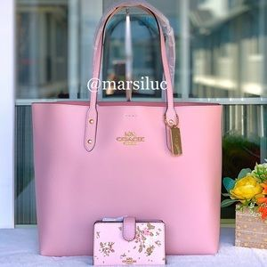 🌺 NEW COACH LG TOTE AND WALLET SET